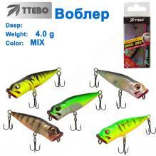 Воблер Ttebo P-RE50 4g MIX