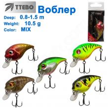 Воблер Ttebo С-DV52 (0,8-1,5m) 10,5g MIX