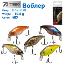 Воблер Ttebo С-AK60SR (0,5-0,8m) 10,5g MIX