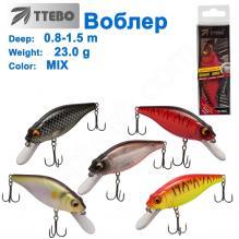 Воблер Ttebo S-L90 (0,8-1,5m) 23g MIX