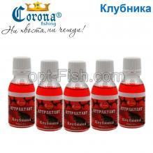 Аттрактант Corona 30мл клубника