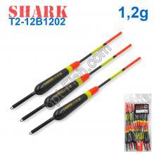 Поплавок Shark Тополь T2-12B1202 (20шт)