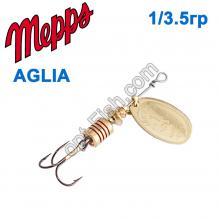 Блесна Mepps Aglia zota-gold 1/3,5g