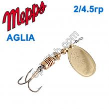 Блесна Mepps Aglia zota-gold 2/4,5g