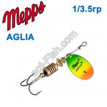 Блесна Mepps Aglia fluo tiger 1/3,5g