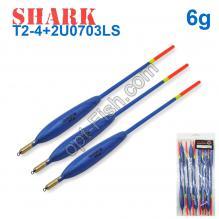 Поплавок Shark Тополь T2-4+2U0703LS (10шт)