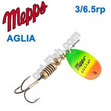 Блесна Mepps Aglia fluo tiger 3/6,5g