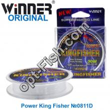 Леска Winner Original Power King Fisher №0811D 30м 0,08мм *
